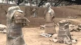 Zprávy NTD - Ve vykopávkách terakotové armády byly objeveny nové artefakty