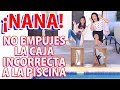 No EMPUJES la CAJA INCORRECTA a la PISCINA | AnaNana Toys