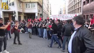 В Афинах проходят массовые митинги протеста  приуроченные к 17 ноября, дню Политехнио