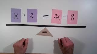 Ligninger - med x på begge sider