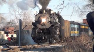 Pere Marquette 1225 steam engine from the movie