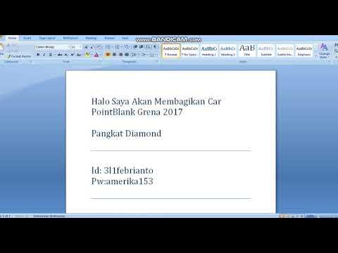 Bagi Bagi Car Point Blank Garena 2017 2018 Youtube