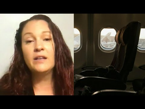 Kristina - A Woman Finds Herself Alone on Plane After Falling Asleep