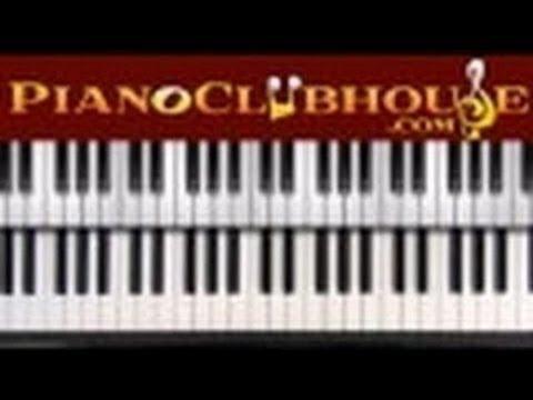 ♫ Easy Piano Run in the key of E-Flat ♫