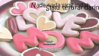 Presentasi lirik lagu ( BUNDA - MELLY GOESLAW ) SANTI 9E