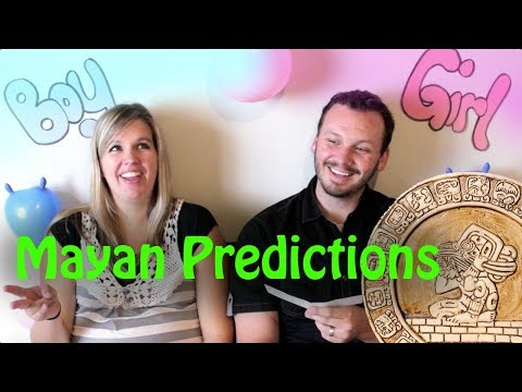 Mayan Gender Predictor 2019: For Real…Or Just For Fun ???