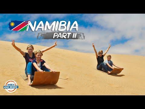 Discovering Namibia | Swakopmund to Etosha National Park | 90+ Countries With 3 Kids