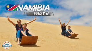 Discovering Namibia | Swakopmund to Etosha National Park | 90+ Countries With 3 Kids
