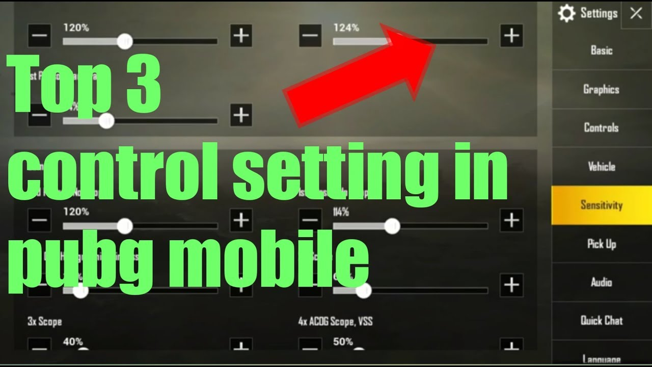 Top 3 Control Setting For Pubg Mobile Only Pro Player Use This - top 3 control setting for pubg mobile only pro player use this setting