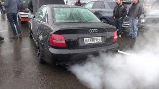 1000HP+ Audi S4 ANTI-LAG SOUND!