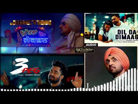 Best of Diljit Dosanjh & Sharry Maan | Audio Jukebox | Latest Punjabi 2k18 Songs Collection