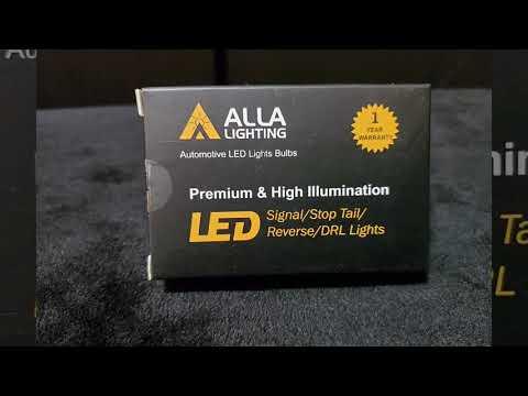 ALLA LIGHTING LED light bulbs **Unboxing and Installation** 2016 Honda Pilot