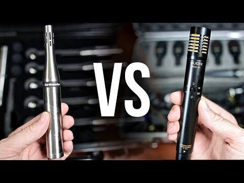 Earthworks DK7 vs Audix DP7 | Drum Mic Comparison