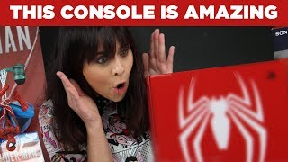 Unboxing the Limited Edition Spider-Man 1TB PS4 Pro Console!