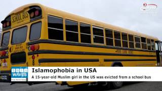 US: Muslim girl 'thrown out of the school bus' for wearing hijab