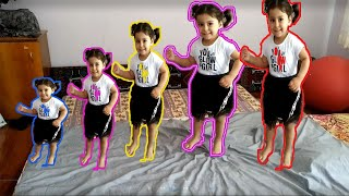 Five Little Monkeys | Oyuncu Bebe TV Nursery Rhymes & Kids Songs