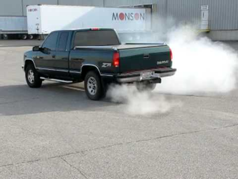 98 chevy k1500 g80 test with burnout youtube. Black Bedroom Furniture Sets. Home Design Ideas