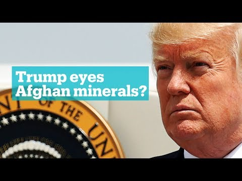 Minerals or terrorism: What's driving the US in Afghanistan?