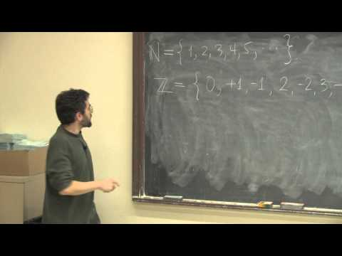 Math Mornings at Yale: Infinity, with Yair Minsky