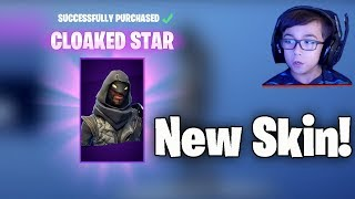 NEW * Cloaked Star SKIN | FORTNITE