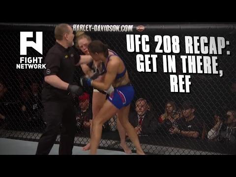 Controversial Calls at UFC 208: Holm vs. de Randamie in Brooklyn