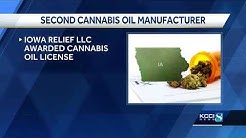 2nd Iowa cannabis oil manufacturer approved