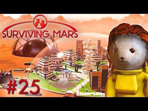 Megakuppel Planung Surviving Mars Deutsch German Gameplay #25