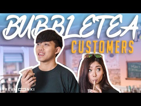 12 Types of Singaporean Bubble Tea Customers