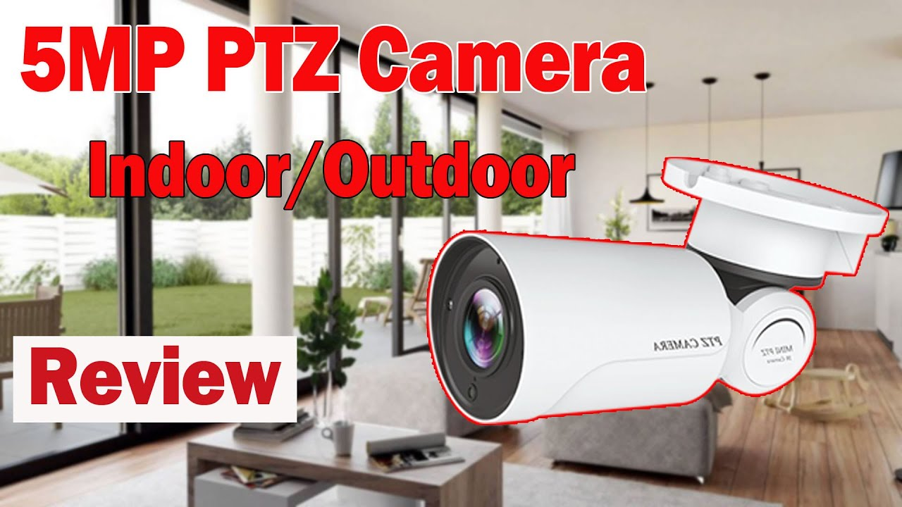 5mp 4x mini network ptz camera