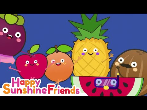Happy Dancing Fruits   Educational Video For Kids