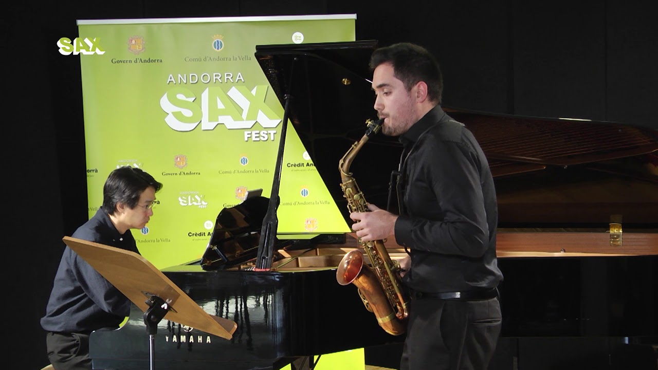 PABLO MARQUEZ PEREZ - 1st ROUND - V ANDORRA INTERNATIONAL SAXOPHONE COMPETITION 2018