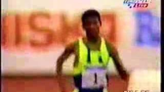 Haile Gebrselassie 1998 Helsinki 5000m WR 12:39.36 Part 2