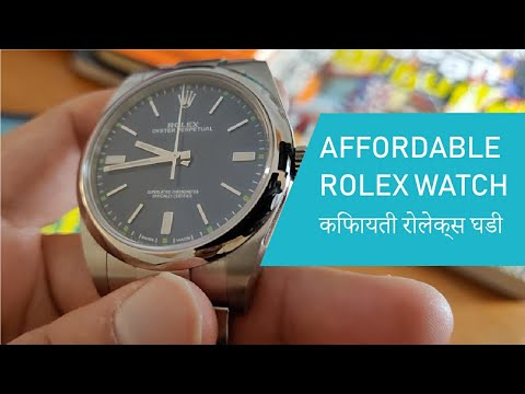 Rolex Oyster Perpetual 39mm Watch Review In Hindi | Rolex India | Rolex Price In India
