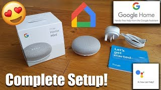 Google Home Mini Complete Setup for Beginners