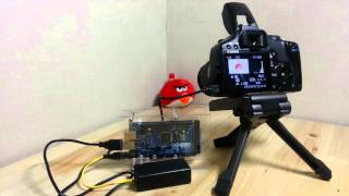 Canon 450D Control with Arduino USB Host Shield (Mega ADK)