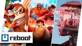 Street Fighter 30th Anniversary Collection Donkey Kong Country Tropical Freeze Orwell  reboot 6
