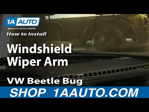 How To Replace Windshield Wiper Arm 98-10 VW Beetle