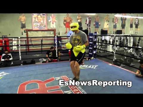 BRANDON RIOS SPARRING MAIDANA & Other boxing stars
