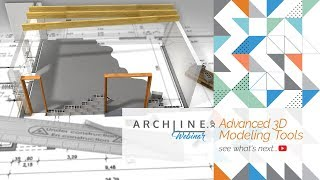 Advanced 3D Modeling Tools - ARCHLine.XP Webinar
