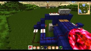 Minecraft Tutorial - Piston Tür durch einen Pfeil öffnen [Deutsch | HD]
