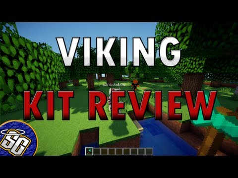 MCPVP.com | Review #44 VIKING Kit Review | Minecraft Hunger Games