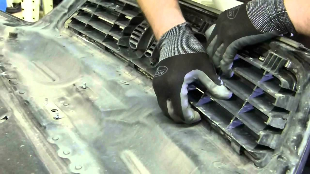 How To Remove Upper Hood Grille Audi Allroad C5 2001 2005 Wolf