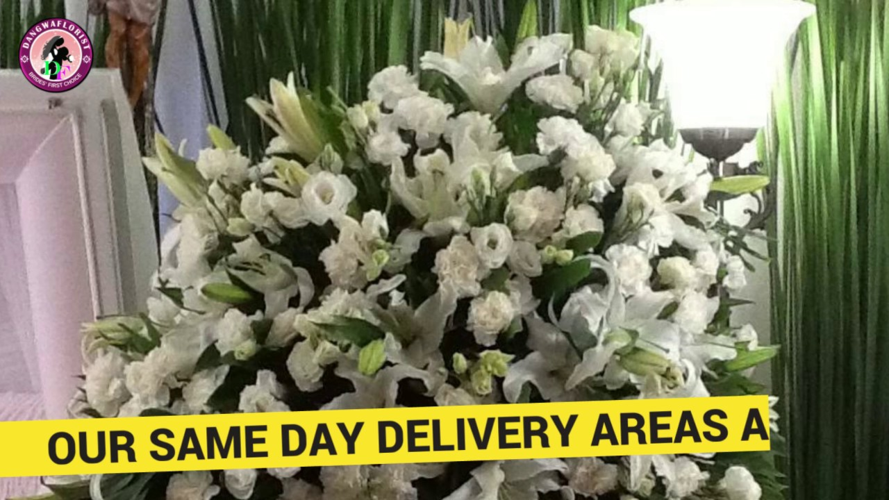 philippines same day sympathy flowers delivery youtube. Black Bedroom Furniture Sets. Home Design Ideas