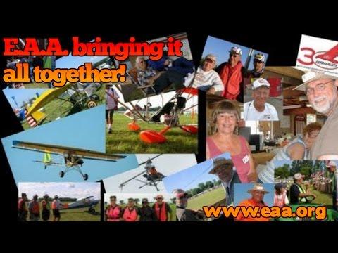 EAA, Experimental Aircraft Association, E.A.A. Airventure Oshkosh Wisconsin.