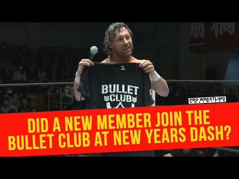 Did A New Member Join The Bullet Club A New Years Dash?