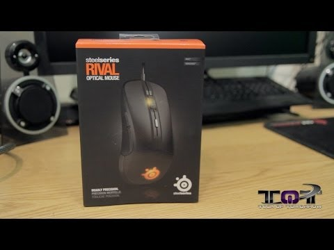 SteelSeries Rival Gaming Mouse Unboxing & First Look