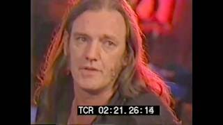 Lemmy Movie Interview UNCUT - Lemmy on Metallica