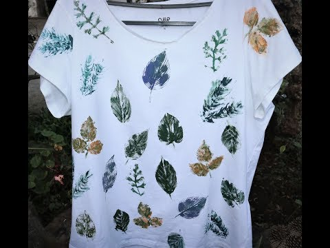 fabric painting ideas -DIY