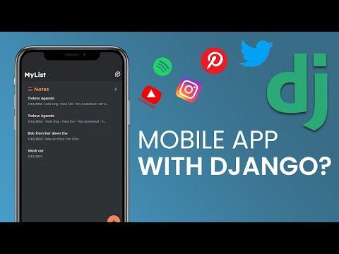 Building a Mobile App with Django & Flutter