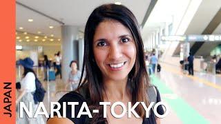 TOKYO AIRPORT - Narita to Tokyo | Japan travel guide (vlog 1)
